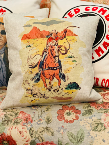Roy Rodgers Throw Pillow Case