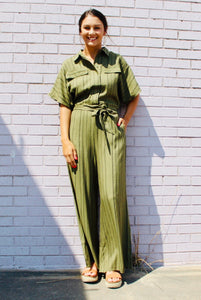 Cover Girl Jumpsuit OLIVE