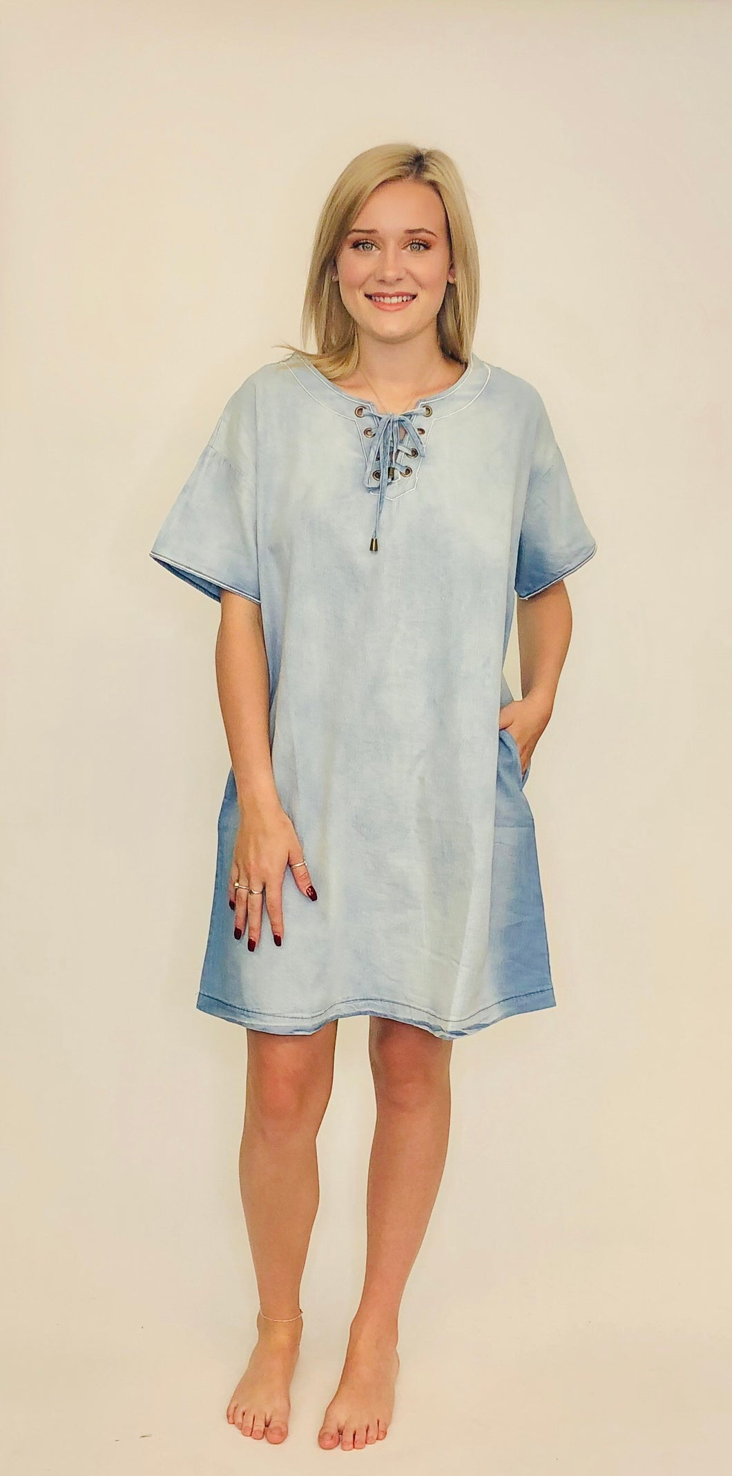 Catalina Denim Dress