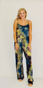 Dye Me Up Jumpsuit INDIGO