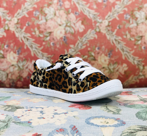 Leopard is a Neutral Sneakers