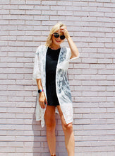 Load image into Gallery viewer, Lace and Grace Lace Kimono OFF WHITE