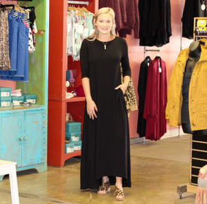 Closet Staple Maxi Dress BLACK
