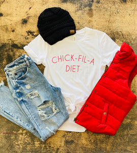 CHICK-FIL-A Diet Tee
