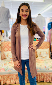 Seasoned Pro Cardigan MOCHA