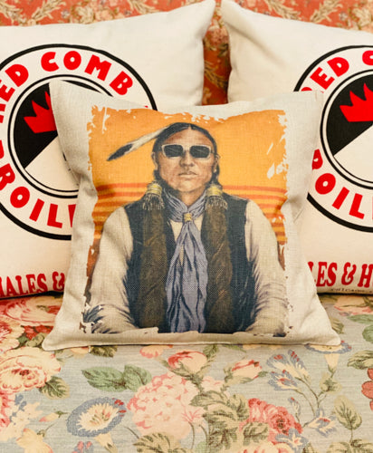 Funky Indian Throw Pillow Case