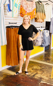 Kennedy Romper BLACK