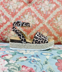 High Up Platform Sandal LEOPARD