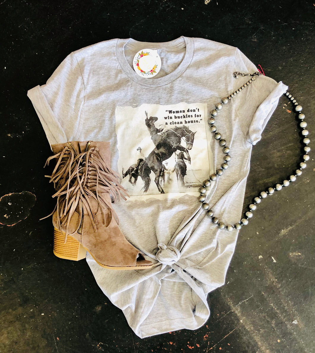 Win Buckles Graphic Tee