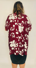 Load image into Gallery viewer, Ivy Marie Kimono BURGUNDY