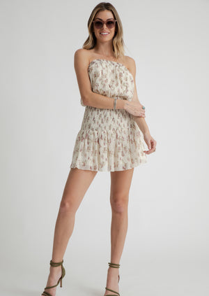 Ashley Mini Dress - White