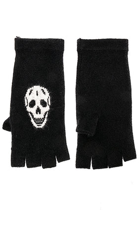 360 Cashmere - Skull Gloves