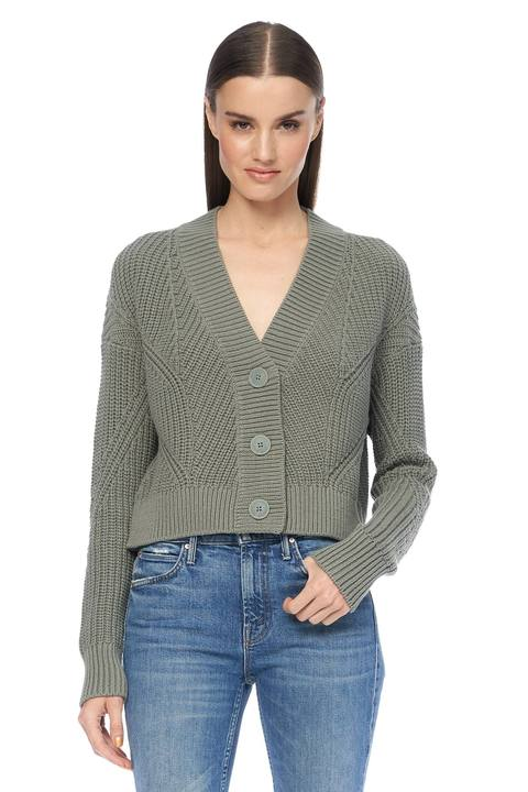 360 Sweater - Lisette Cardigan - Sage