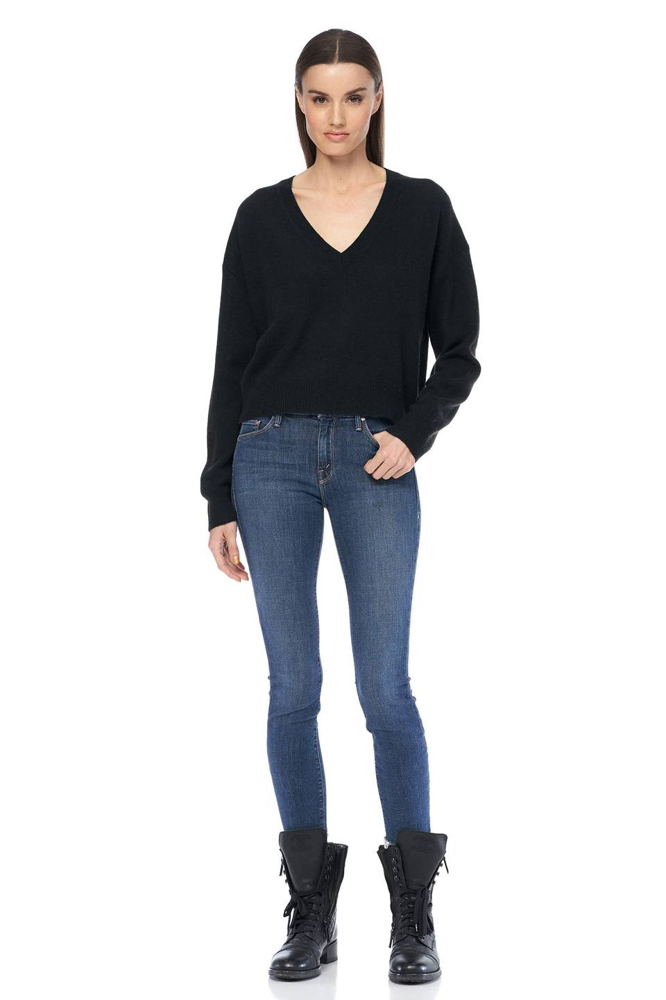 360 Cashmere - Niomi Sweater - Black