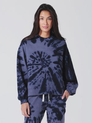 Electric and Rose - Neil Sweatshirt - Rhythm Silverlake/Blue