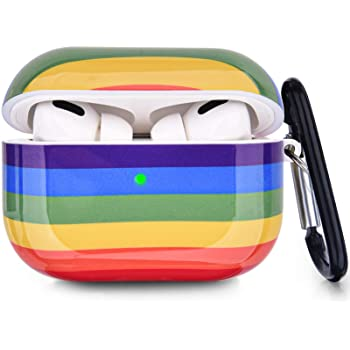 Olive and Bette's - Airpods Pro rainbow protective hard case