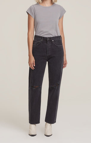 AGOLDE - 90's Mid-Rise Loose Fit Jean - Smokestack