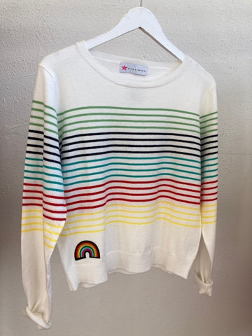 Olive and Bette's - Multi Stripe Sweater