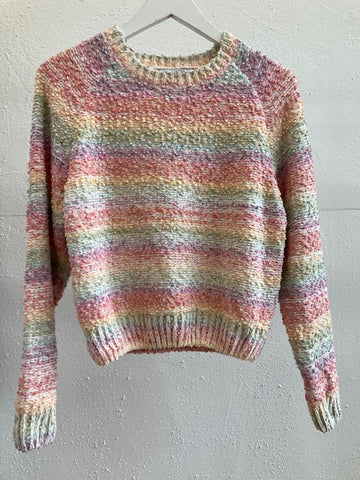 Olive and Bette's - Rainbow Chenille Sweater