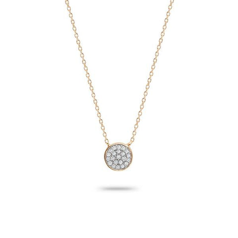 Adina Reyter - Pave Disc Necklace