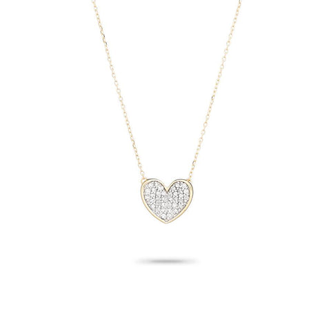 Adina Reyter - Folded Heart Necklace