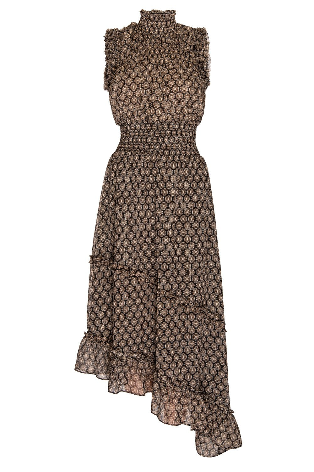 Misa - Shalom Dress - Medallion Print