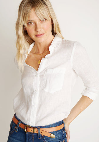 BELLA DAHL - Pocket Button Down