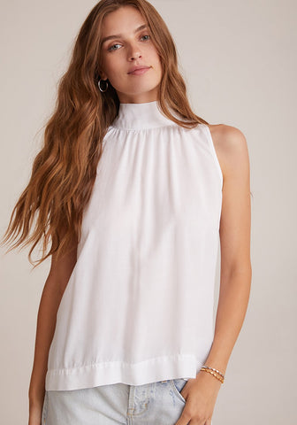 Bella Dahl - Tie Neck Halter Top - White