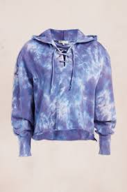 Love Shack Fancy - Bevan Hoodie - Mood Indigo