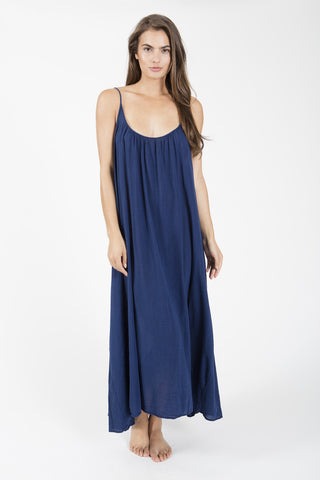 Nine Seed - Tulum Maxi Dress - Pacific