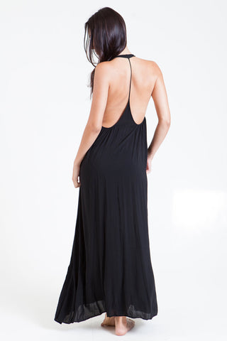 Nine Seed - Antigua Maxi Dress - Black