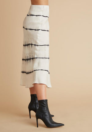 Bella Dahl - Bias Midi Skirt - Moonstone