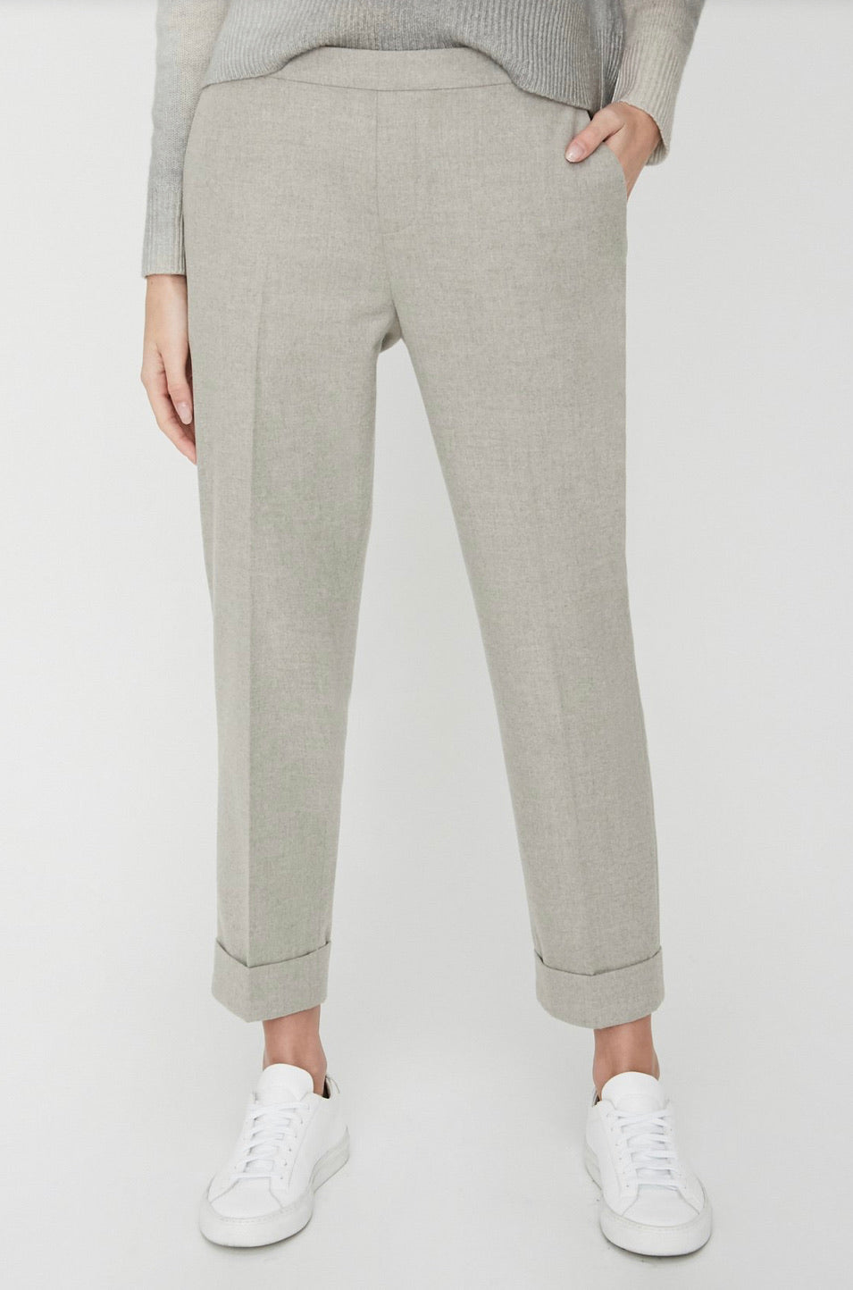 Brochu Walker - Westport Pull-on Pant - Whisper Melange