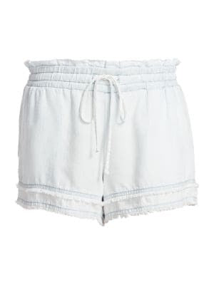 BELLA DAHL- Fray Hem Pocket Short