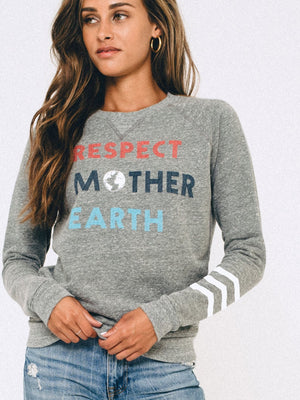 SOL ANGELES- Respect Mother Earth Pullover