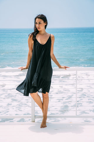 Nine Seed - St Tropez Mini Dress - Black