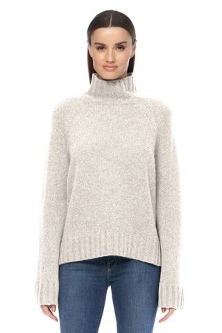 360 Cashmere - Leighton Sweater - Chalk