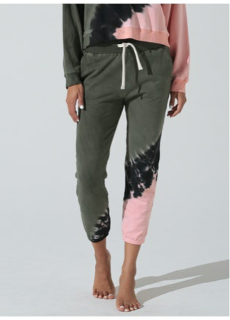Electric and Rose - Vendimia Jogger - Laurel/Melon/Onyx