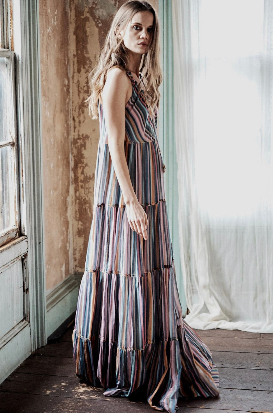 LOVE the LABEL - Winnie Stripe Maxi