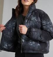 Bella Dahl - Puffer Jacket - Black Crystal