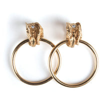 Load image into Gallery viewer, La Mujer Earrings - Medium Gold