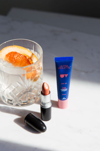 SPF Lip Balm: Sheen Screen SPF 30 Lip Balm from Ultra Violette Skincare - Lifestyle Shot