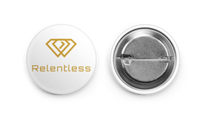 Relentless 1st Edition Button Pin