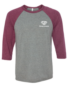 Everyday Relentless 3/4 Sleeve Raglan Tee