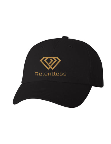 Black Relentless Dad Cap