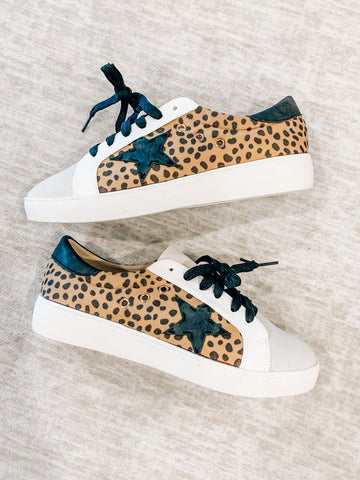 Cheetah Golden Goose Dupe Sneakers