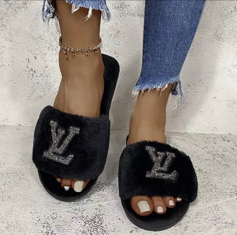 Luxury Bling Slippers