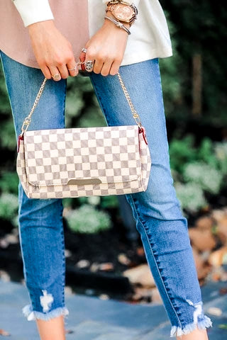 Favorite Checked Crossbody Bag *preorder*