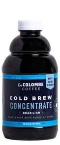 Can of Cold Brew Concentrate.