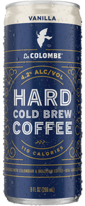 Can of Hard Cold Brew Coffee - Vanilla.